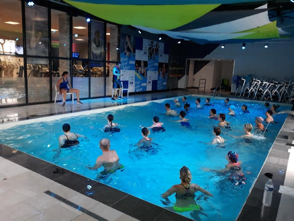 Séance Aquagym à Aqua Fit'Wave